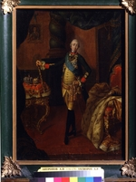 Antropov, Alexei Petrovich - Portrait of the Tsar Peter III (1728-1762)