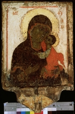 Russian icon - Our Lady of Tenderness (The Virgin Eleusa)