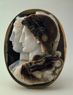 Classical Antiquities - Cameo (The Gonzaga Cameo) with King Ptolemy II of Egypt and his wife Arsinoe I