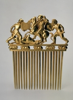 Scythian Art - Comb with a fighting scene