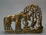 Scythian Art, Collection of Peter the Great - Rest with horses (Belt buckle)