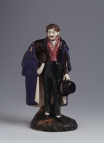 Master of the A. Safronov Factory - Dandy dressed in cloak and top-hat