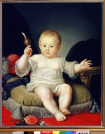 Anonymous - Childhood of Grand Duke Alexander Pavlovich (Alexander I)