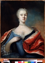 Anonymous - Portrait of Princess Charlotte Christine of Brunswick-Wolfenbüttel, wife of Tsarevich Alexei of Russia (1694-1715)