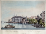 Ziegler, Johann - View of Düsseldorf before the French Bombardment on October 6, 1794
