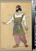 Korovin, Konstantin Alexeyevich - Costume design for the opera The Snowstorm by G. Sviridov