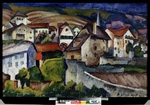 Mashkov, Ilya Ivanovich - A Little Town in Switzerland