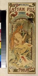 Mucha, Alfons Marie - Poster for the printing house Cassan Fils