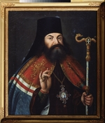 Russian master - Portrait of the Poet Theofan Prokopovich (1681-1736), Theologian and archbishop  of Novgorod