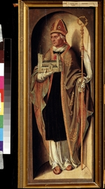 Woensam, Anton (of Worms) - Saint Cunibert, Bishop of Cologne