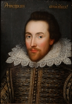 Anonymous - The Cobbe portrait of William Shakespeare (1564-1616)