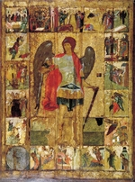 Russian icon - Saint Michael the Archangel