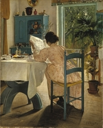 Ring, Laurits Andersen - Breakfast with the morning newspaper