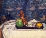 Pissarro, Camille - Still Life with a Coffeepot