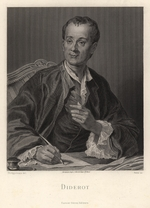 French master - Portrait of Denis Diderot (1713-1784)