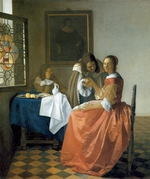 Vermeer, Jan (Johannes) - The Girl with the Wineglass