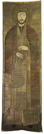 Stroganov workshop - The Shroud of Alexander Nevsky (Ecclesiastical embroidery)