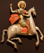 Ancient Russian Art - Saint George and the Dragon