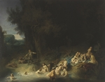 Rembrandt van Rhijn - Diana with Actaeon and Callisto