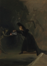 Goya, Francisco, de - A Scene from The Forcibly Bewitched (El Hechizado por Fuerza)