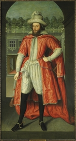 Peake, Robert, the Elder - Portrait of William Pope, 1st Earl of Downe (1573-1631) as a Knight of the Bath