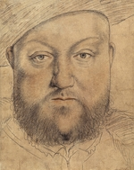 Holbein, Hans, the Younger - Portrait of King Henry VIII of England