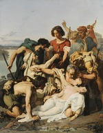 Baudry, Paul Jacques Aimé - Zenobia Discovered by Shepherds on the Banks of the Araxes