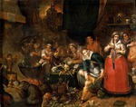 Francken, Frans, the Younger - The Witches' Kitchen