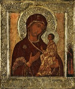 Russian icon - The Virgin of Tikhvin