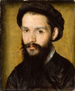 Corneille de Lyon - Portrait of the Poet Clément Marot (1496-1544)