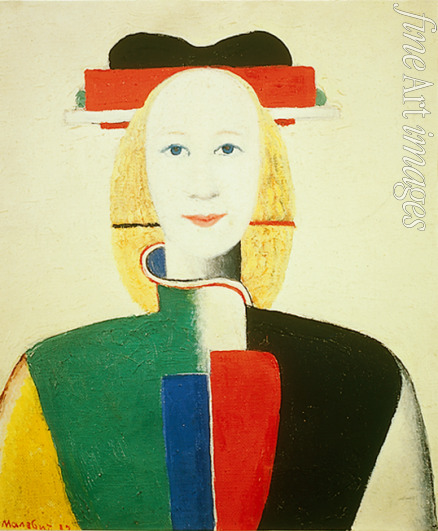 Malevich Kasimir Severinovich - A girl with a comb