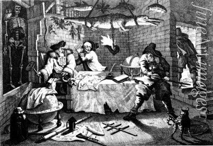 Hogarth William - Illustration to poem