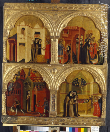 Venetian master - Scenes from the Life of the Saint Juliana