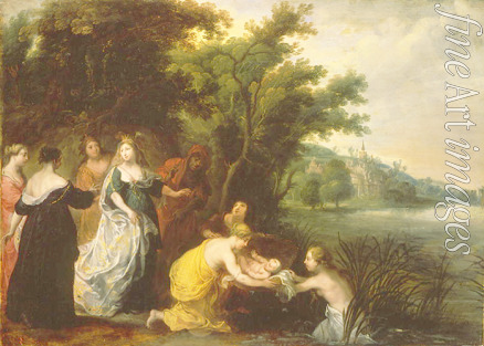 Balen Jan van - The Finding of Moses