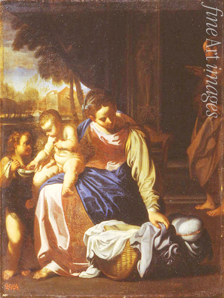 Carracci Annibale - The Holy Family